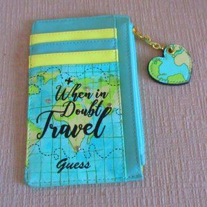 Guess Travel Wallet & Card Case NEW